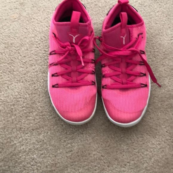 Pink Nike women's shoes. Size 8